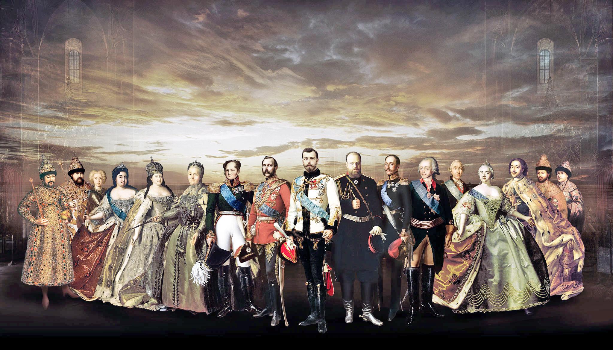 405 лет дому Романовых